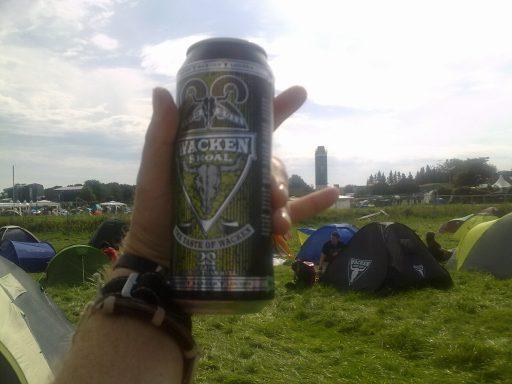 Wacken Beer - Cerveza - @HornsUpPodcast