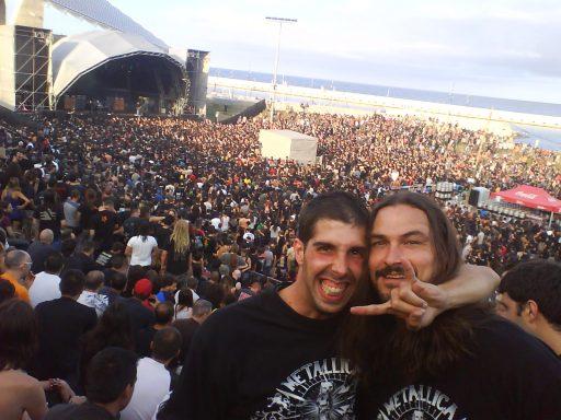 Sonisphere 2009 Barcelona - @HornsUpPodcast
